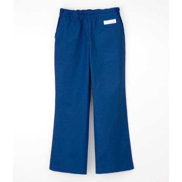 ナガイレーベン 医療白衣 スクラブパンツ(男女兼用パンツ) SL-5093 ロイヤルブルー L (取寄品)