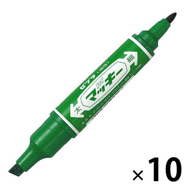 ハイマッキー 太/細 10本 緑