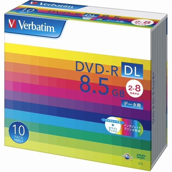データ用DVD-R 片面2層式 8.5GB DHR85HP10V1 1パック(10枚) 三菱化学メディア