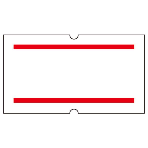 SPラベル 赤二本線