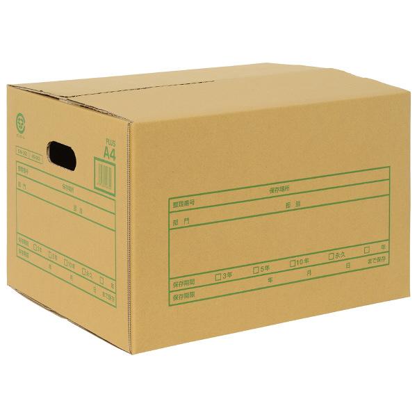 プラス A式文書保存箱 A4 40063 1箱(20枚入)