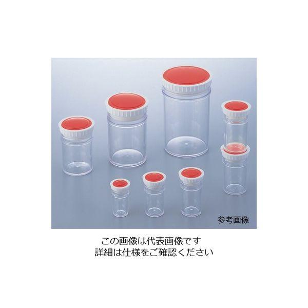 アズワン ラボランPSサンプル管瓶 15mL 橙 100本+10本入 PS-15 1箱(110個) 9-892-13(直送品)