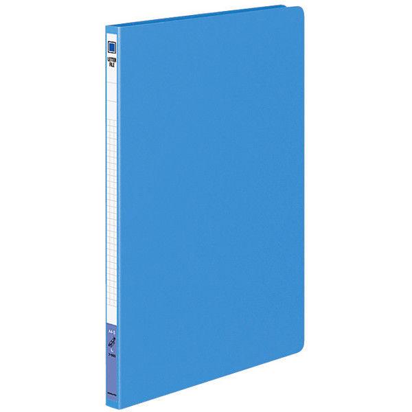 レターファイル色厚板紙 A4タテ 青