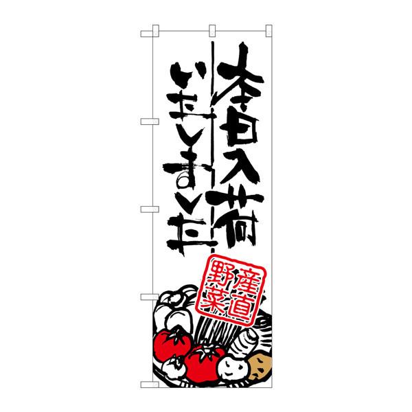 のぼり屋工房 のぼり SNB-986 本日入荷 産直野菜 30986 (取寄品)