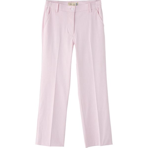 フランシュリッペ シャーリングパンツ(スリム) ピンク M MS-21052 医療白衣 ナースパンツ 1枚 (取寄品)