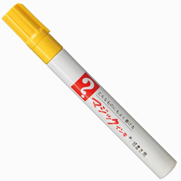 油性ペン マジックインキNo.500 細書き 黄 寺西化学工業 M500-T5