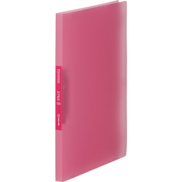 キングジム シンプリーズZファイル(透明) ピンク 578TSPヒン 5冊 (直送品)