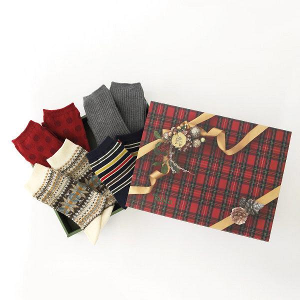 クリスマスギフト 靴下 タビオ