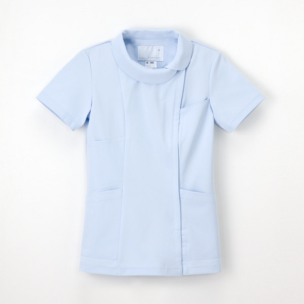 ナガイレーベン レディスジャケット ブルー M HE1942 M 1枚 (取寄品)