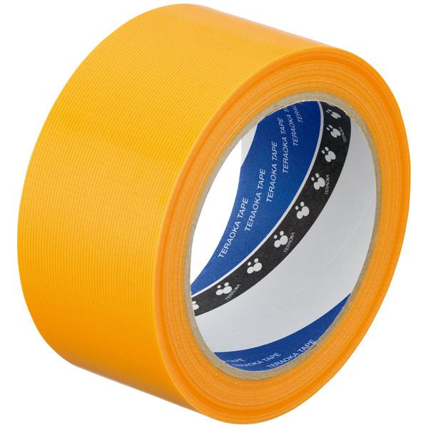 寺岡製作所 P-カットテープ 4140 強粘着 黄 幅50mm×25m巻