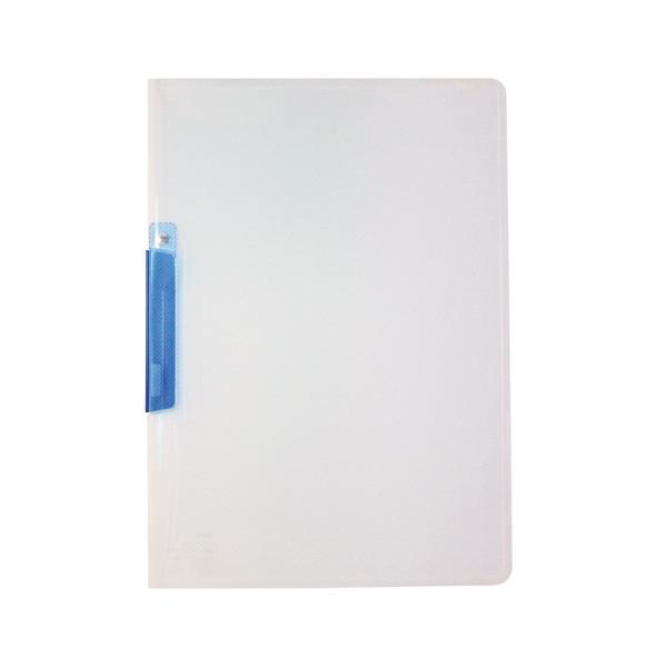 クリップインファイル A4タテ ブルー