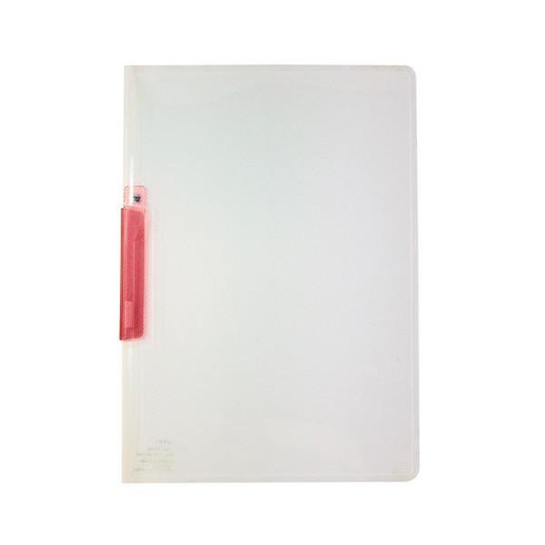 セキセイ クリップインファイル A4タテ ピンク