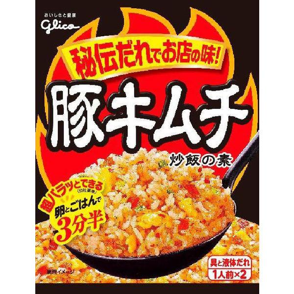 江崎グリコ 豚キムチ炒飯の素