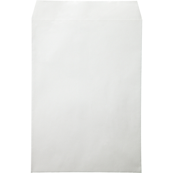 ムトウユニパック ナチュラルカラー封筒 角2(A4) グレー 100枚