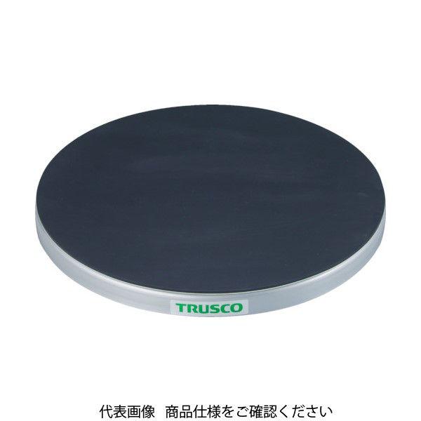 トラスコ中山(TRUSCO) TRUSCO 回転台 50Kg型 Φ300 ゴムマット張り天板 TC30-05G 1台 330-4493(直送品)