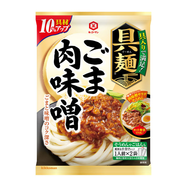 キッコーマン 具麺 ごま肉味噌1袋