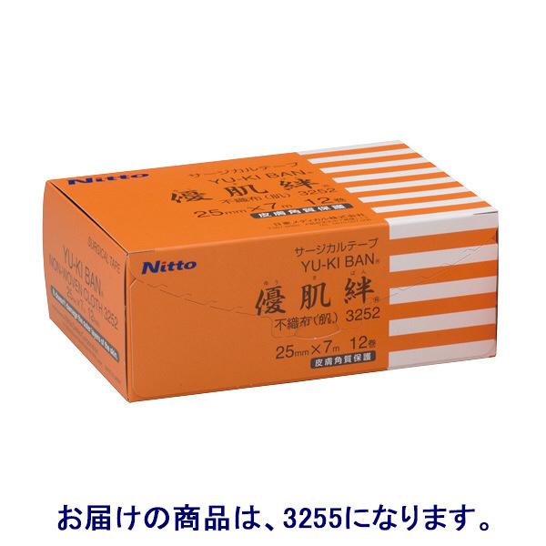 ニトムズ 優肌絆不織布(肌) 50mm×7m 3255 1箱(6巻入)