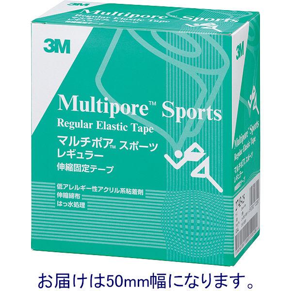 スリーエム ジャパン マルチポアTMスポーツレギュラー伸縮固定テープ 50mm×5m 2743-50 1箱(6巻入)
