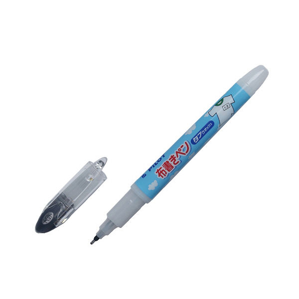 パイロット 布書きペン 太字 タフウォッシュ MNN-12M-B