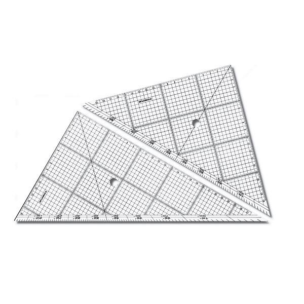 ステッドラー レイアウト用方眼三角定規