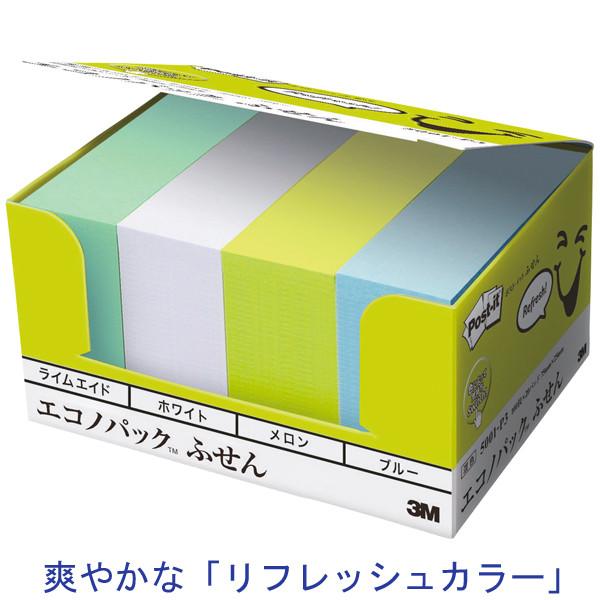 スリーエム ジャパン ポスト・イット(R)フレンドリーシリーズエコノパック 75×25mm 5001-P3 1箱(20冊入)