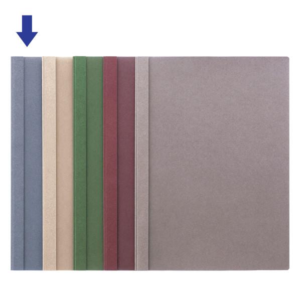 製本ファイル A4縦 青 100冊