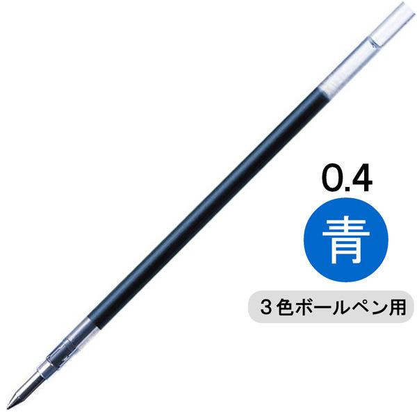 ゼブラ ゲルインクボールペン替芯 JK-0.4芯 0.4mm 青 1箱(10本入)