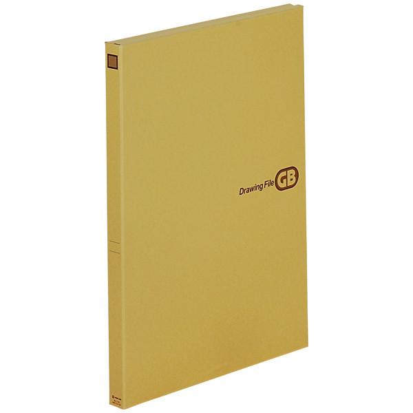 キングジム 図面ファイルGB A2サイズ用・2つ折 1142 5冊