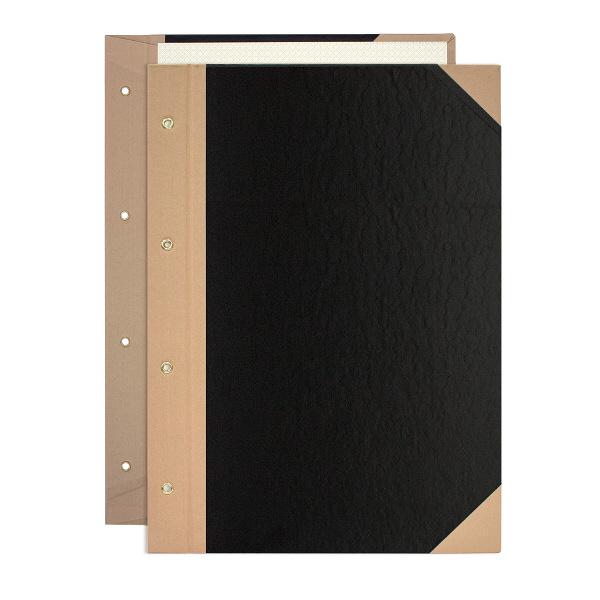 プラス とじ込表紙 A4タテ 307×220mm 4穴 つづりひも付 FL-006TU 77178 1袋(10組入)