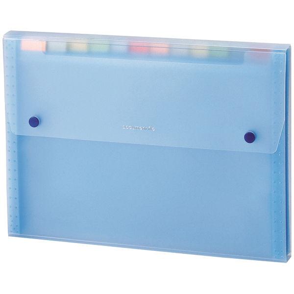 セキセイ ドキュメントファイル ブルー SSS-1212-10 1箱(10冊入)