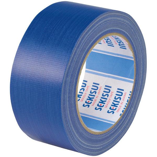 カラー布テープ No.600V 0.22mm厚 50mm×25m巻 青 N60AV03 1箱(30巻入) 積水化学工業