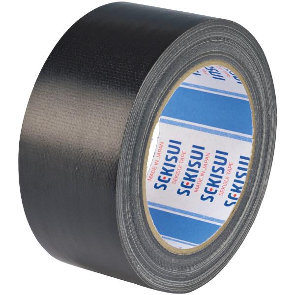 カラー布テープ No.600V 0.22mm厚 50mm×25m巻 黒 N60KV03 1箱(30巻入) 積水化学工業