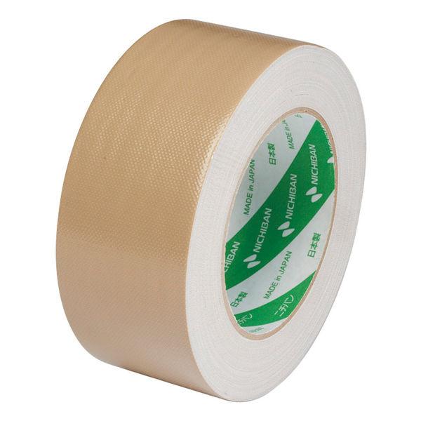 布粘着テープ No.102N 0.31mm厚 50mm×25m巻 茶 1箱(30巻入) ニチバン