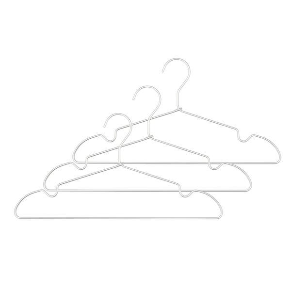 アルミ洗濯用ハンガー 肩ひもタイプ3本組