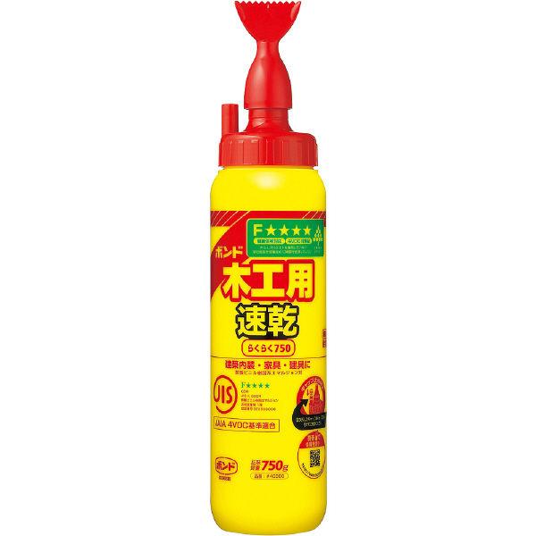 コニシ ボンド 木工用速乾 750g #40300 1箱(10個入) (取寄品)