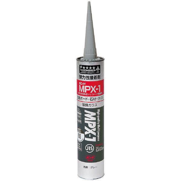 コニシ ボンド MPX-1グレー 333ml #57778 1箱(10個入) (取寄品)