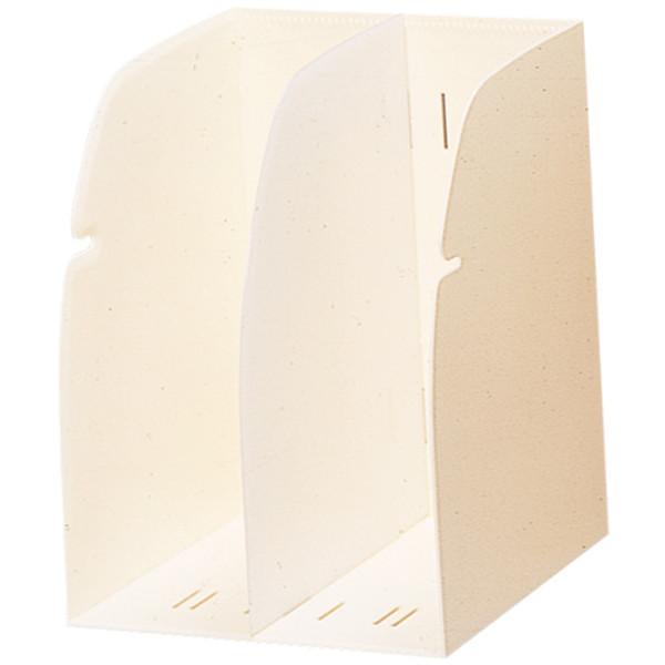リヒトラブ ブックスタンド 白 1セット(2個:1個×2)