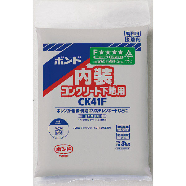コニシ ボンド CK41F 3kg #04900 1箱(6個入) (取寄品)