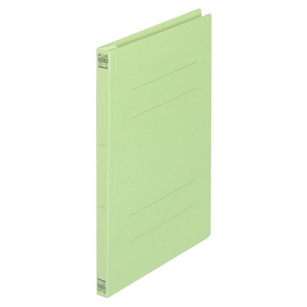 プラス フラットファイル樹脂製とじ具 B5タテ グリーン No.031N 10冊