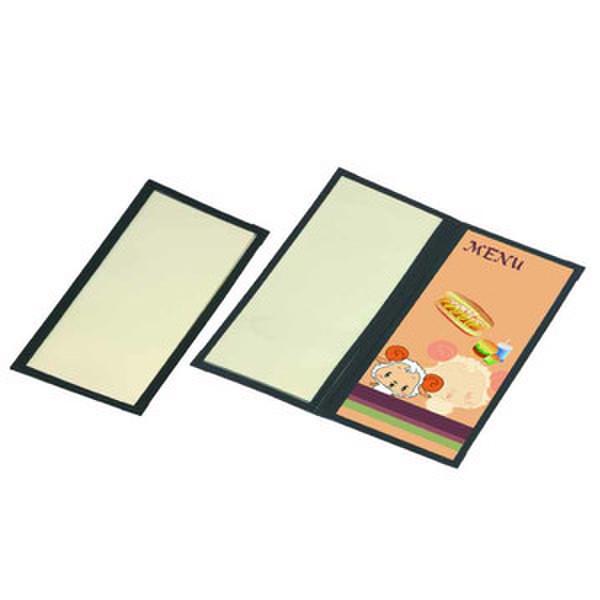 ハピラ メニューファイル 4ページ 1袋(10冊入)