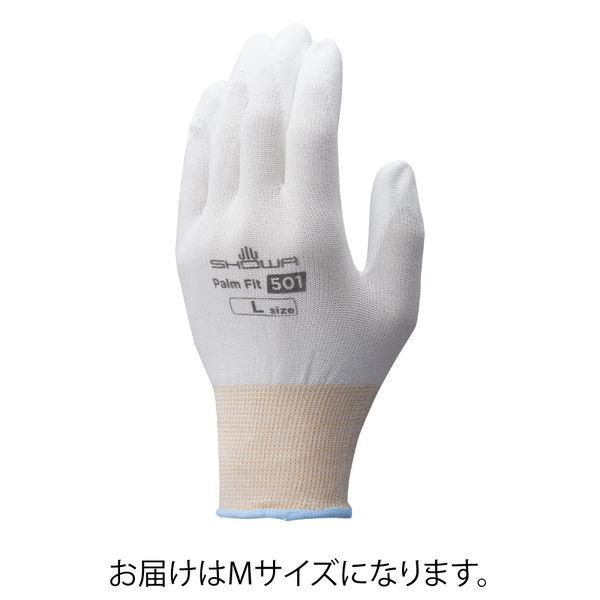 被膜強化パームフィット手袋M(10双入)