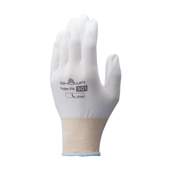 被膜強化パームフィット手袋L(10双入)