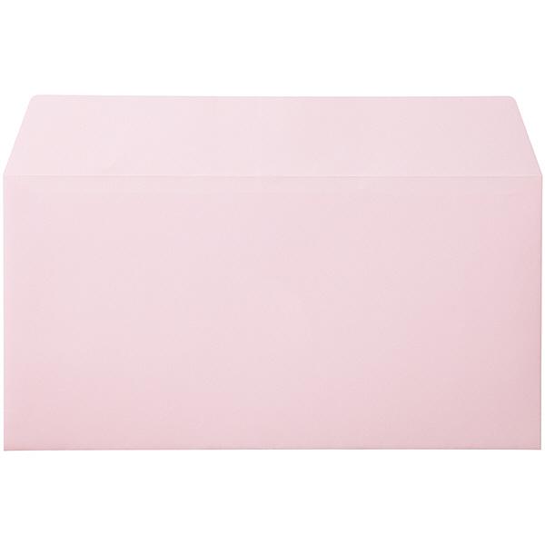 ムトウユニパック ナチュラルカラー封筒 長3横型 ピンク 1000枚(100枚×10パック)