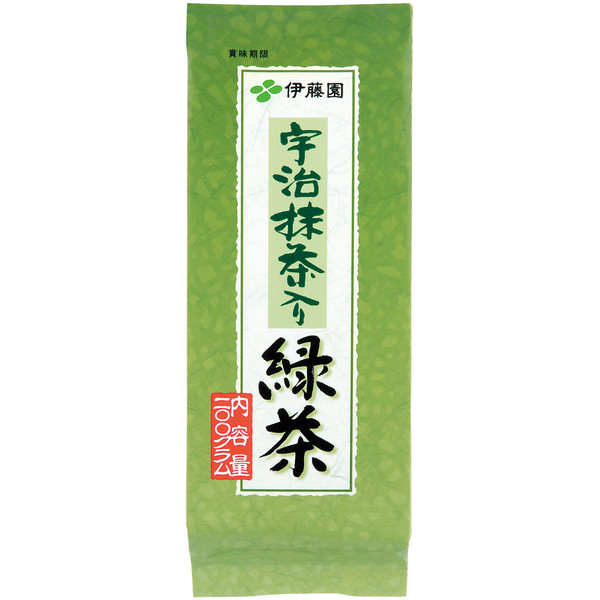宇治抹茶入り緑茶 1袋(200g)