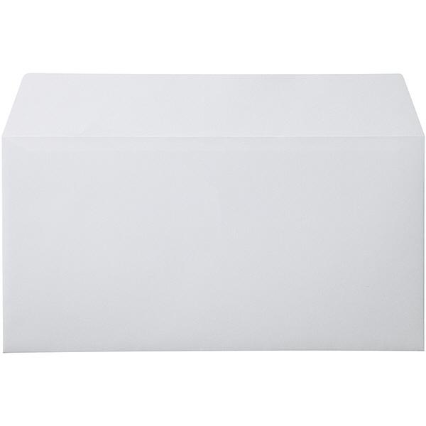 ムトウユニパック ナチュラルカラー封筒 長3横型 グレー テープ付 1000枚(100枚×10袋)