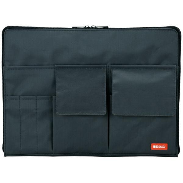 バッグインバッグ A4 黒