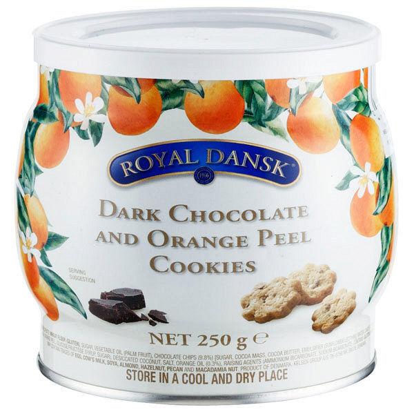 ダークチョコ&オレンジピールクッキー1個
