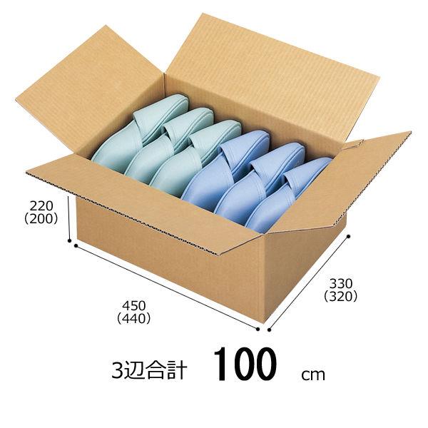 【底面A3】【3辺合計100cm以内】宅配ダンボール A3×高さ220mm 1セット(60枚:20枚入×3梱包)