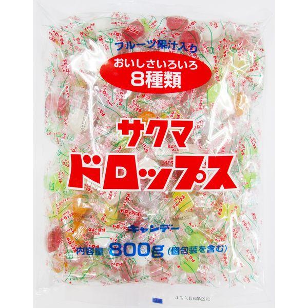 昭和のなつかしいキャンディー「サクマドロップス」は大袋入りがお得!