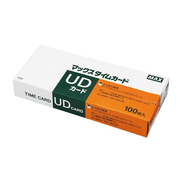 マックス タイムカードER-UDカード 1セット(300枚入) ER-UD